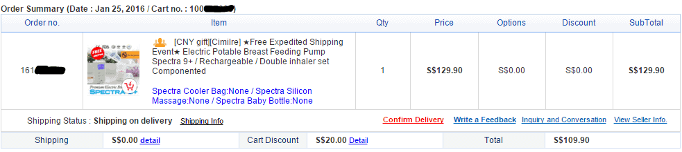 Spectra 9+ Electric Breast Pump