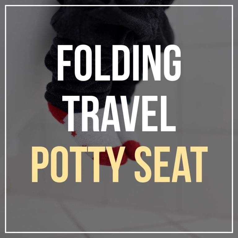 Folding Travel Potty Seat For Toddlers