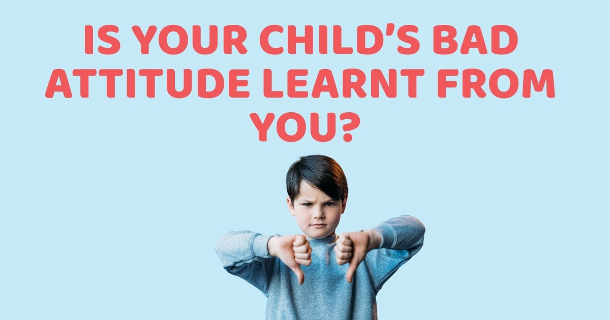 how to deal with children bad attitude