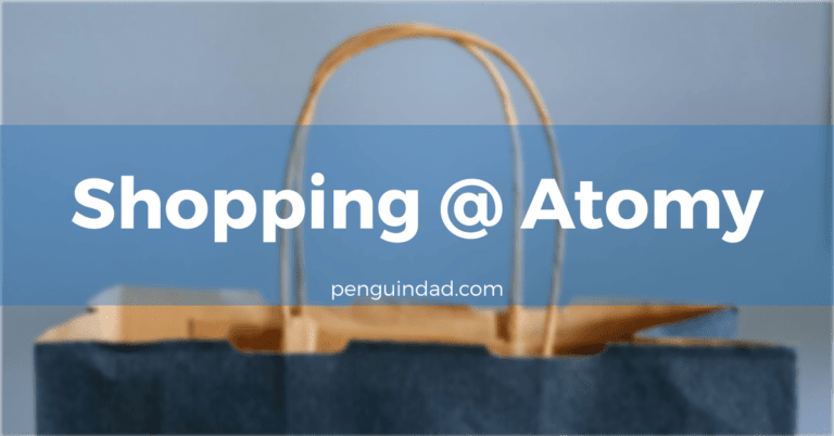 Purchased Daily Use Products From Atomy